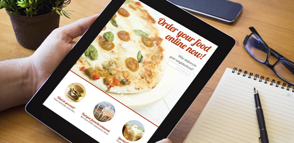 diseño web empresas alimentación